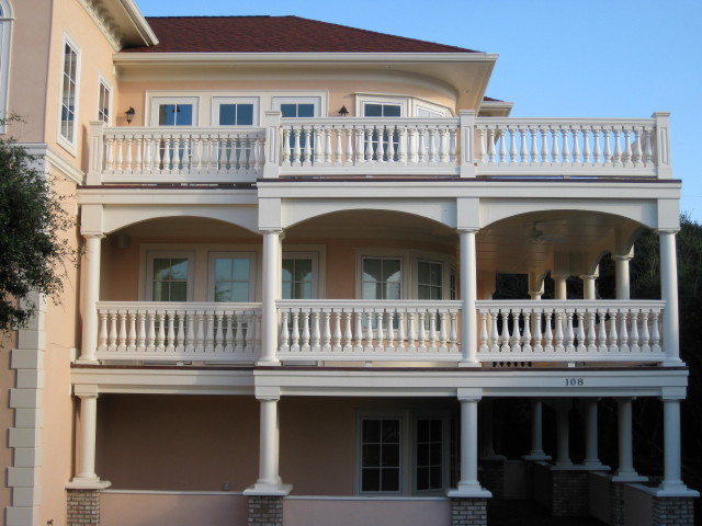 PVC Porch & Newell Rail Systems